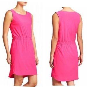 Athleta Astra Sleeveless Bright Pink Dress